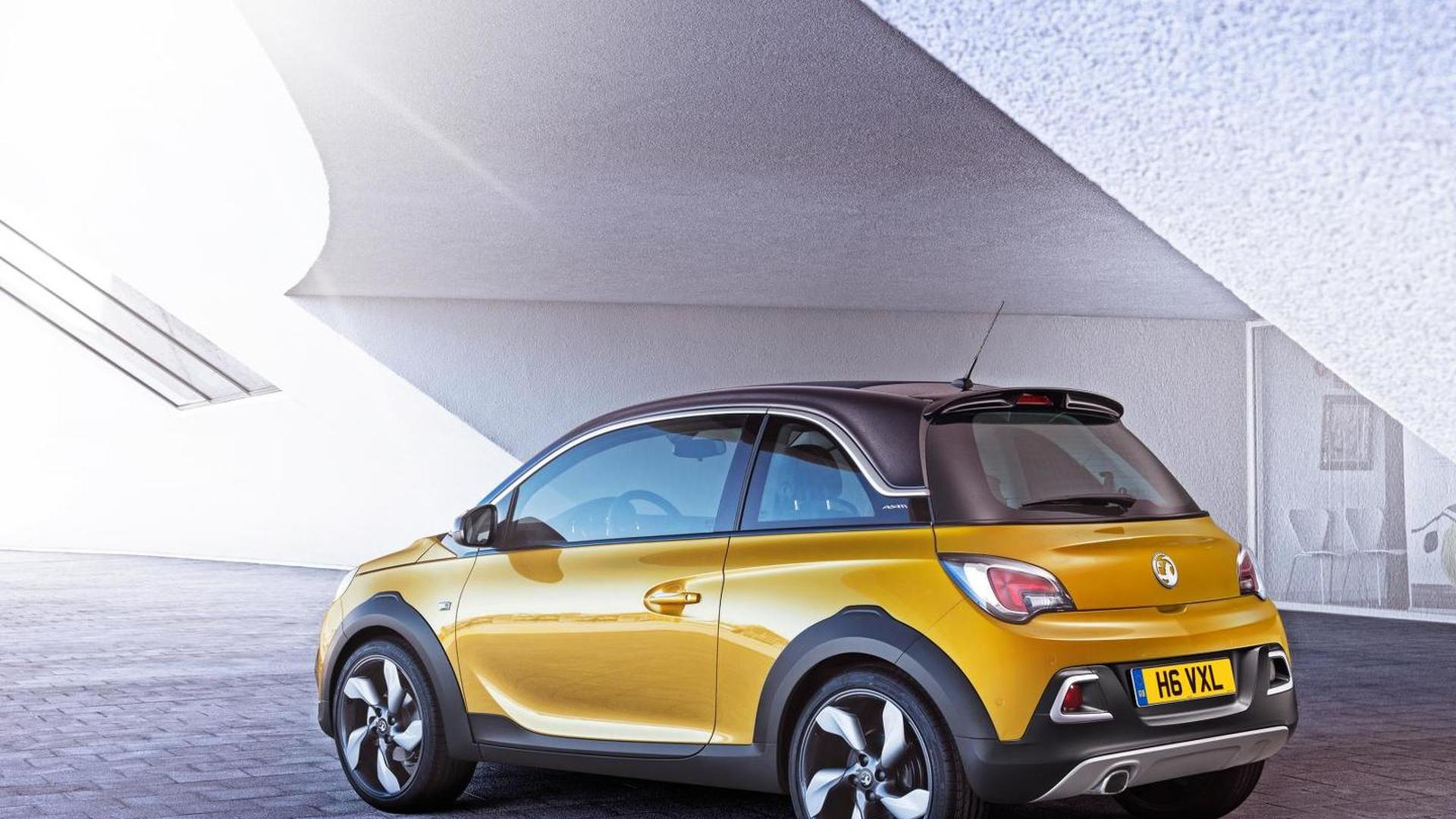 Vauxhall ADAM ROCKS launches with £14,695 base price, 100+ new photos & video released