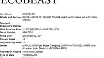 Ford registers 'EcoBeast' moniker