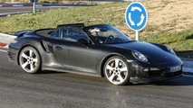 Porsche 911 Turbo Cabrio facelift spied with minor changes