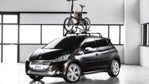 Peugeot 208 Natural & Urb concepts bow in Sao Paulo