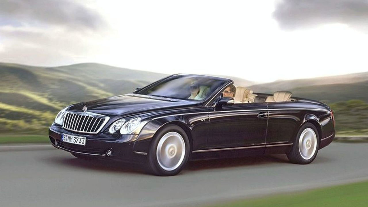 Maybach Cabrio Artist Impression