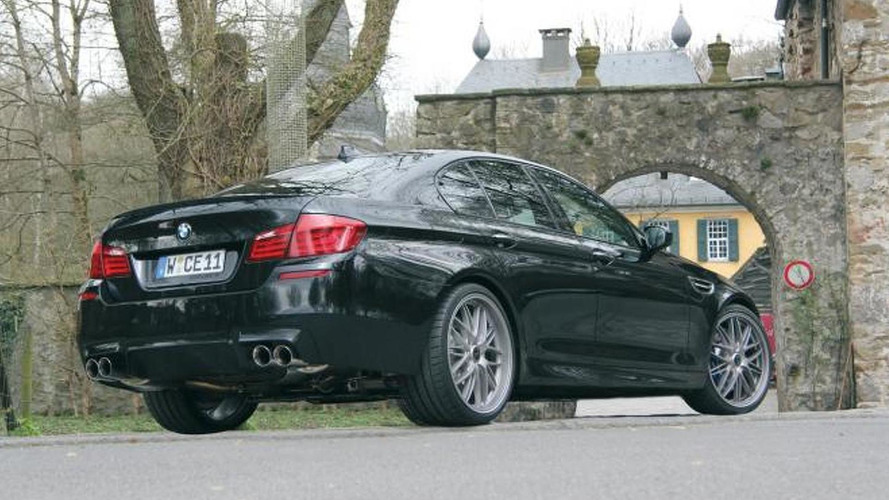 Manhart Racing MH5 S-Biturbo announced - based on the BMW M5
