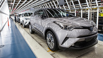 Toyota C-HR hits the assembly line in Turkey