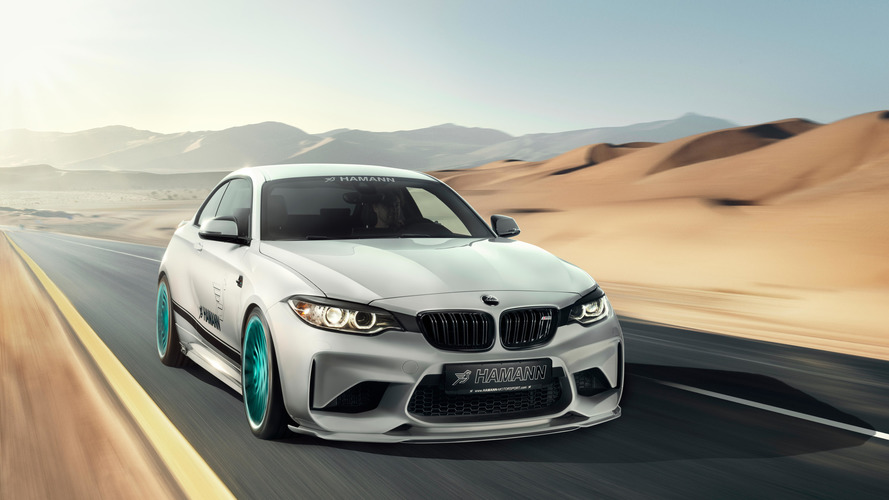 BMW M2 gets personality enhancement by Hamann