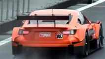Lexus LF-CC race car spy video screenshot 30.09.2013