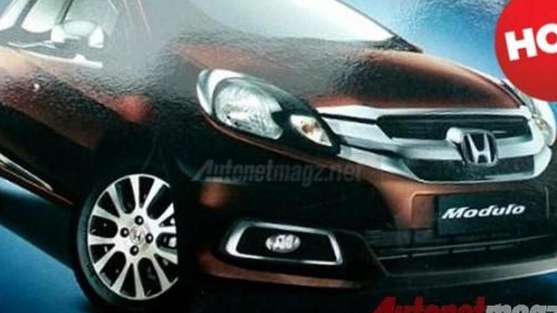 Honda Mobilio production version with accessory kit leaked