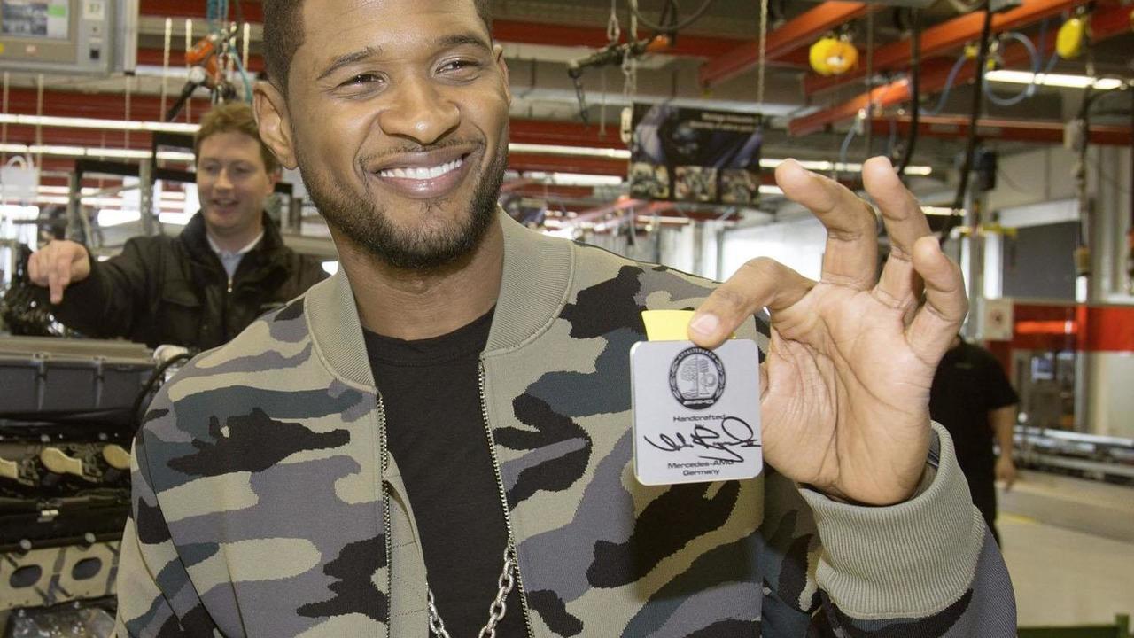 Usher building an AMG engine 04.3.2013