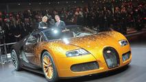Bugatti Veyron Grand Sport Venet special edition unveiled in Geneva