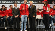 Real Madrid team sponsorship 19.11.2012