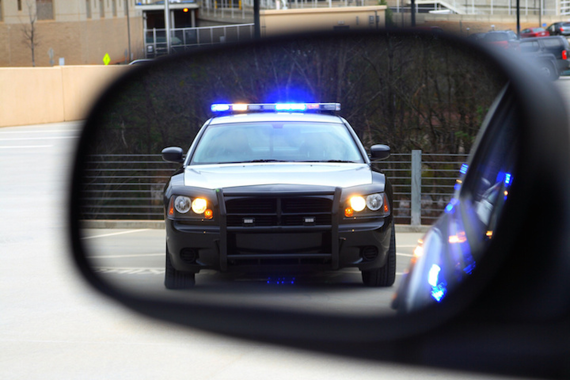 Should Police Be Able to Stop a Self-Driving Car in a High-Speed Chase?