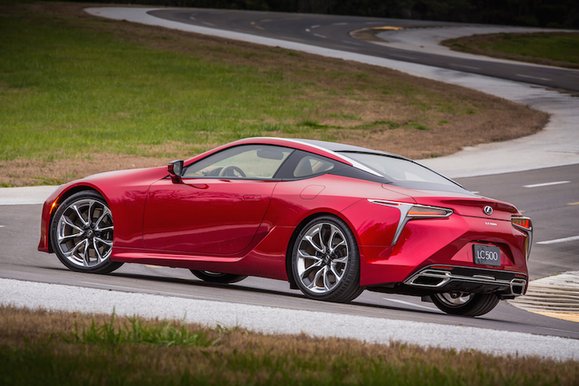 2017 Lexus LC 500 Coupe Channels Its Inner LFA; Unleashes 467HP