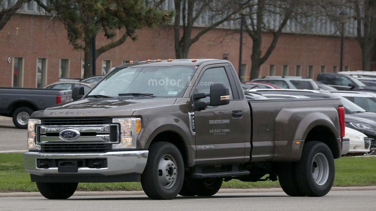 2017 ford f 350 xlt single cab dually spied in michigan 2017 2018 best cars reviews. Black Bedroom Furniture Sets. Home Design Ideas