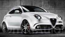 Alfa Romeo MiTo facelift render shows what to expect