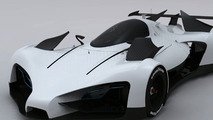 Green GT Design Study Envisions Future Le Mans Electric Racer