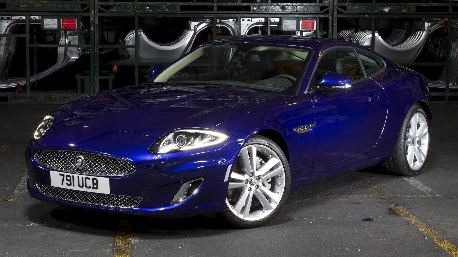 2012 Jaguar XK facelift revealed in New York