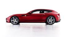 Ferrari Four FF Concept prowls the night [video]