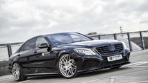 Prior Design tricks out the Mercedes-Benz S-Class with crocodile leather