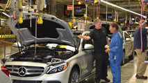 Mercedes C-Class production in Tuscaloosa