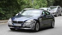BMW 6-Series GranCoupe facelift spy photo