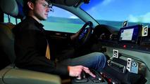 Audi simulator cameras monitor eye movements 01.03.2012