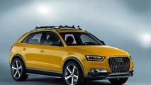 Audi Q3 jinlong yufeng theme cararrives in Beijing