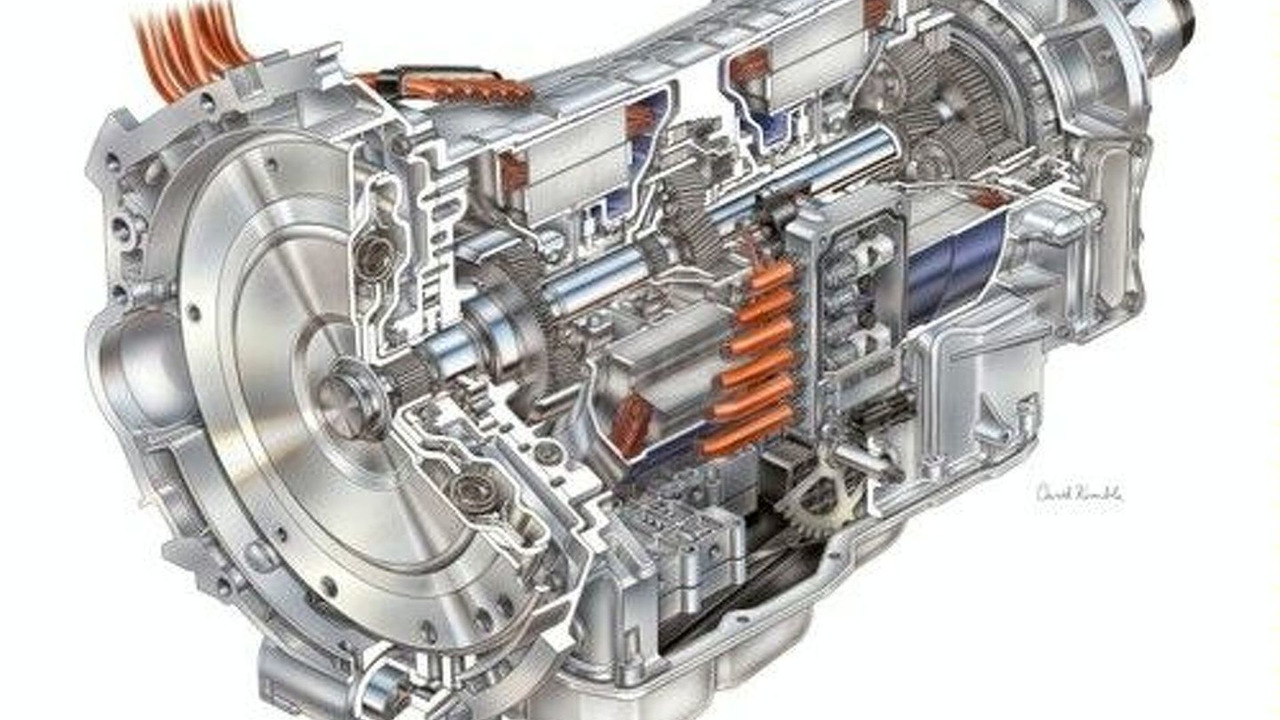 BMW and DaimlerChrysler hybrid engine