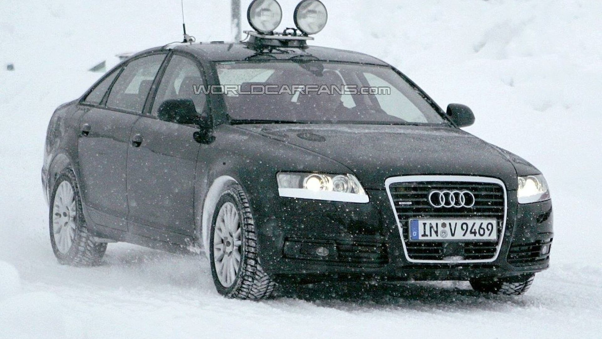 Fresh Audi A6 Facelift Spy Photos