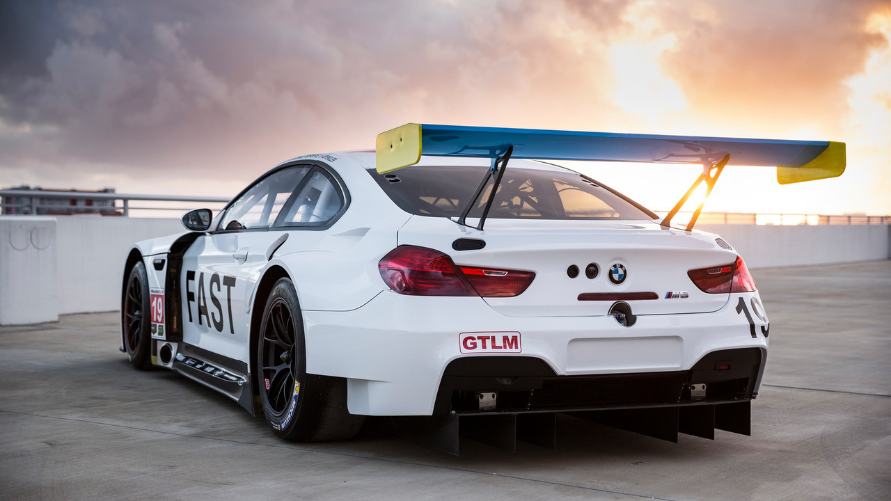BMW M6 GTLM Art Car