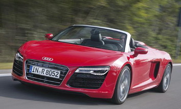 2014 Audi R8 and RS5 Cabriolet Boast New Look, Melt Faces