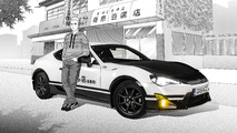 Toyota GT86 inspired by Initial D