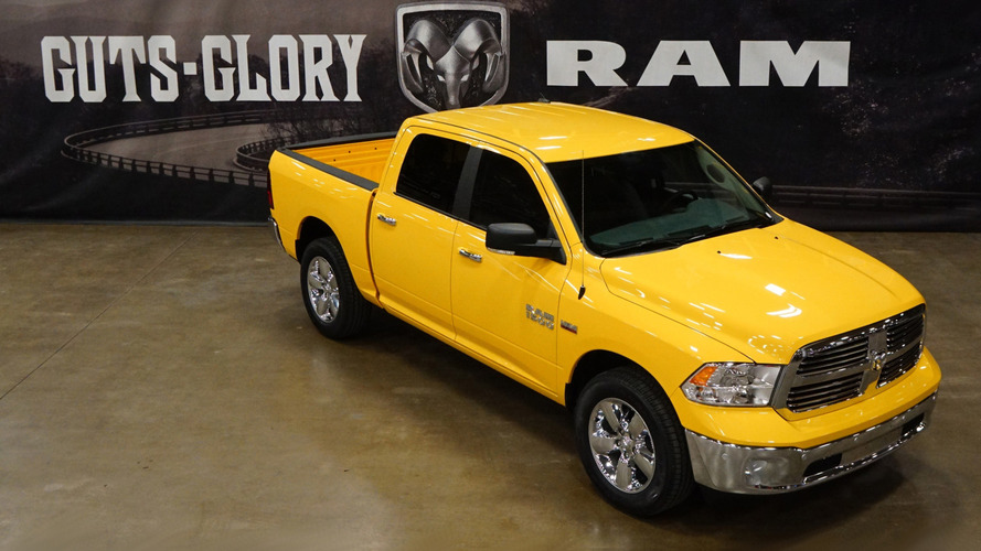 2016 Ram 1500 Yellow Rose of Texas Edition introduced