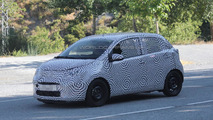 2015 Citroen C1 spied in southern Europe