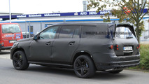 2012 Mercedes GL 63 AMG spied near the Nürburgring