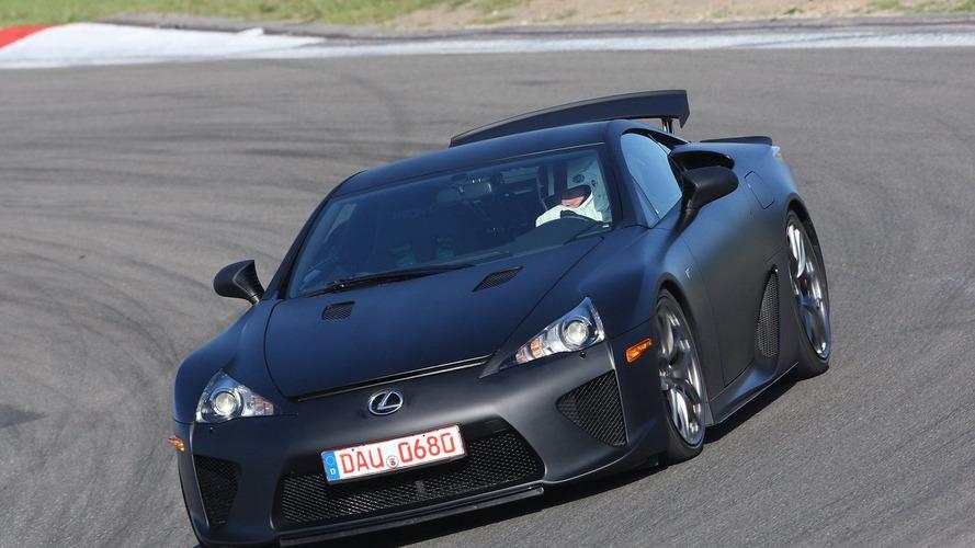 Lexus LFA supercar is sold out