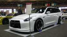 Tuner Creates First Nissan GT-R Wagon