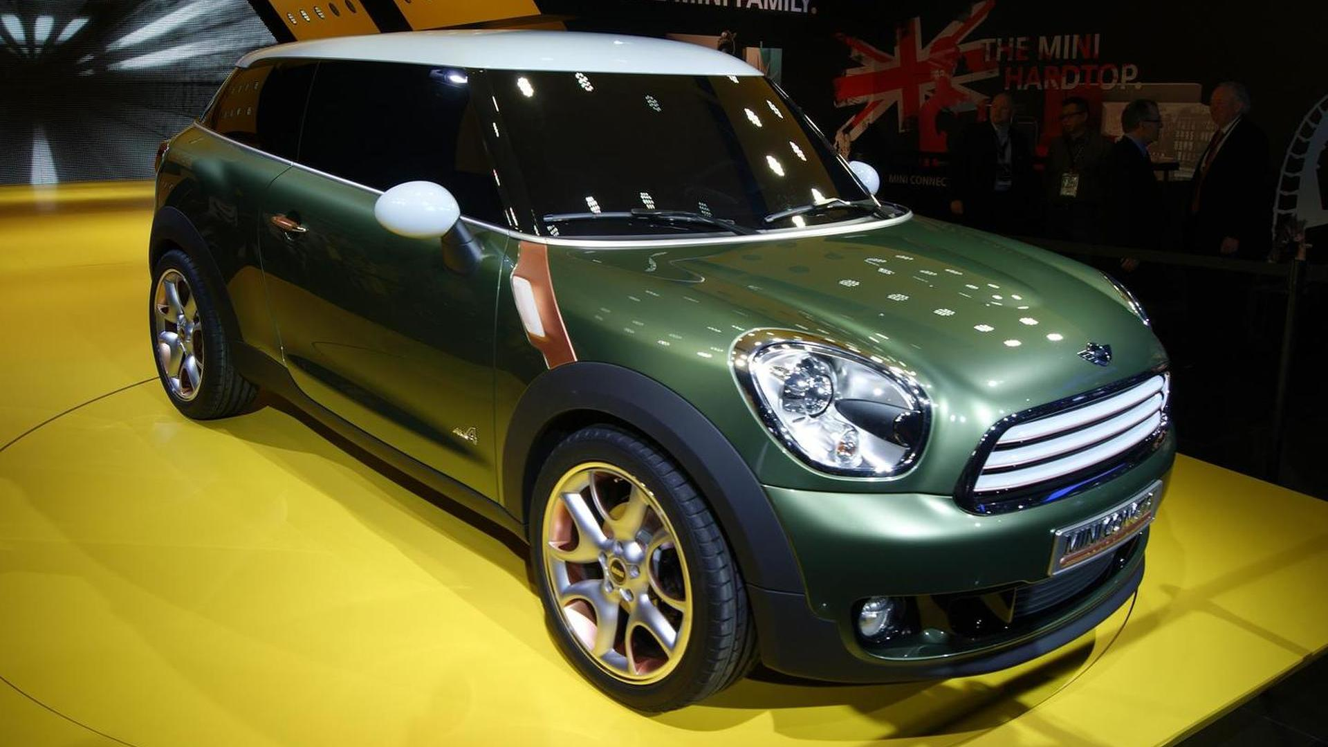 MINI Paceman will be launched in 2013 - report