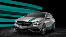 Mercedes-AMG celebrates F1 double triumph with special edition A45
