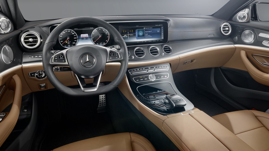 2016 Mercedes E-Class interior revealed