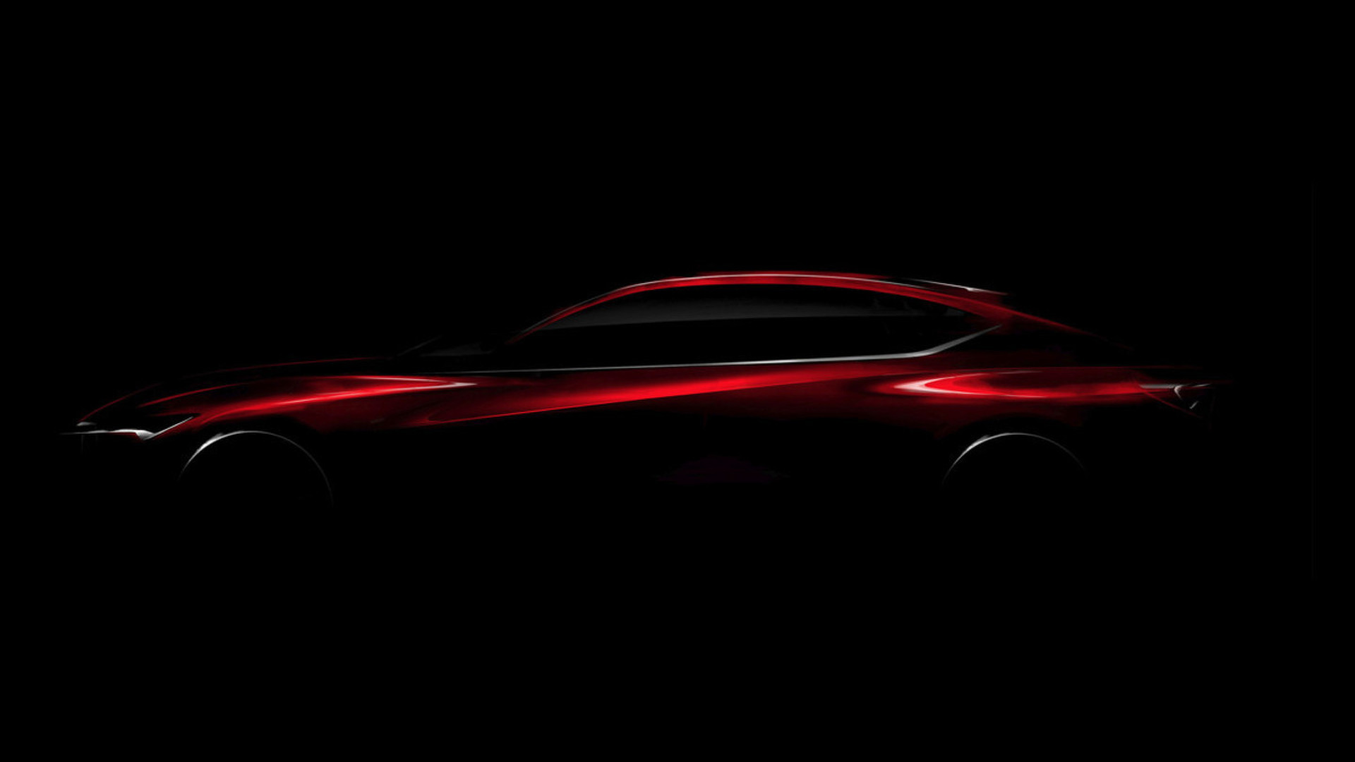 Acura Precision Concept teased, previews future styling direction