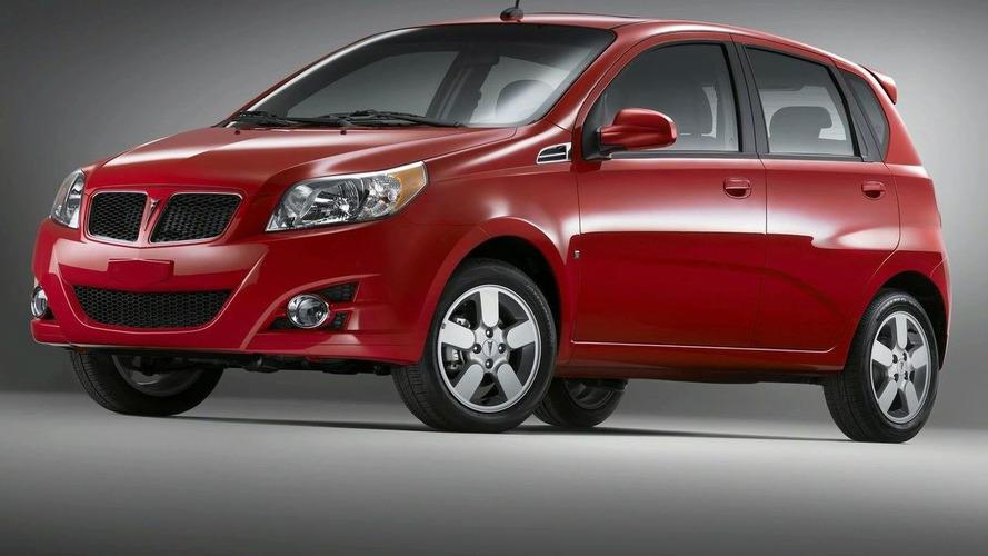 Pontiac G3 Revealed for U.S. Market