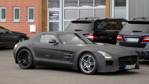 Mercedes SLS AMG Black Series teased, debuts in less than 24 hours