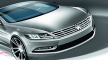 2012 Volkswagen CC facelift Design sketch