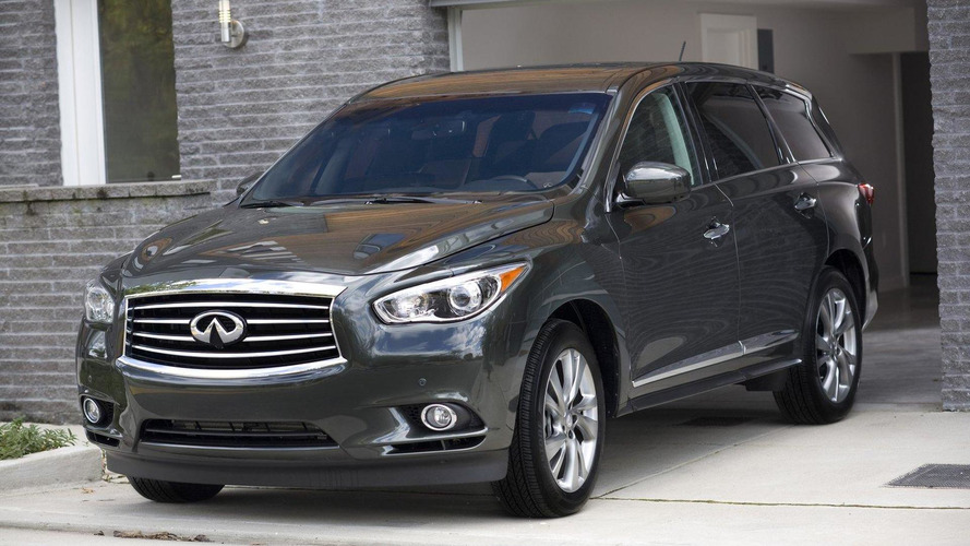 2013 Infiniti JX revealed in L.A.