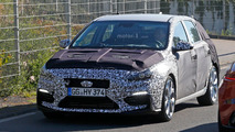 2017 Hyundai i30 N spy photo