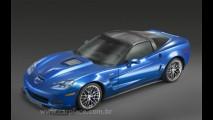 Chevrolet divulga fotos do Corvette ZR1 2009 de 620 cavalos de potência