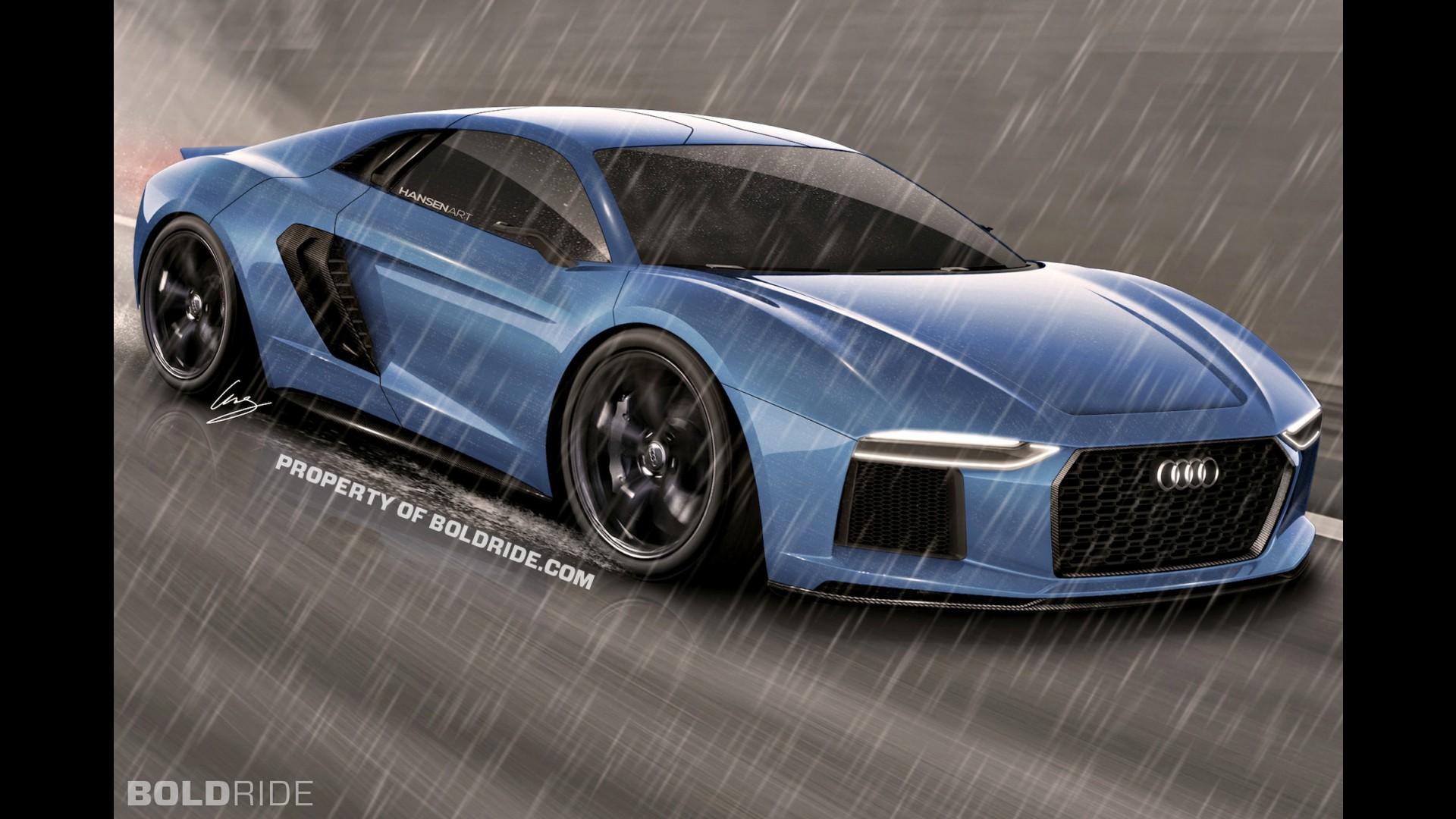 Audi R8 Concept