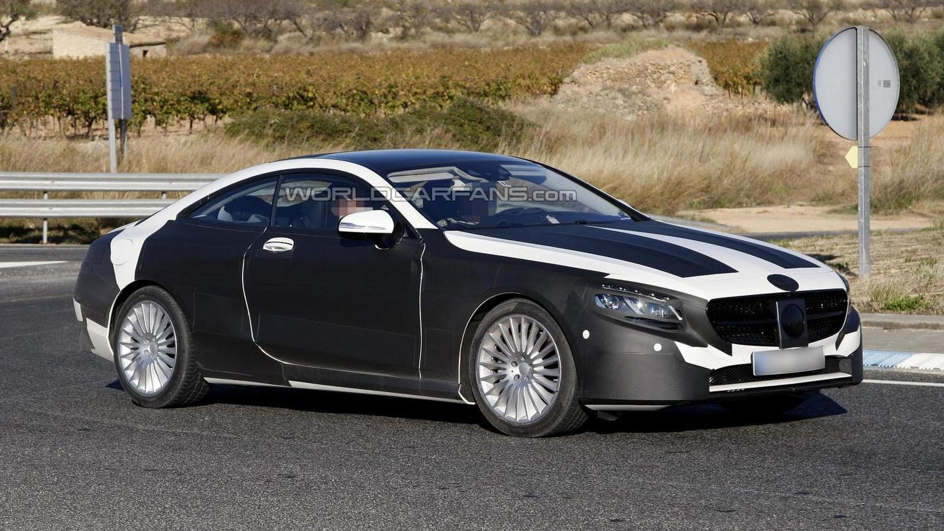 2014 mercedes benz s class coupe sheds some camo in new for 2014 mercedes benz s class coupe