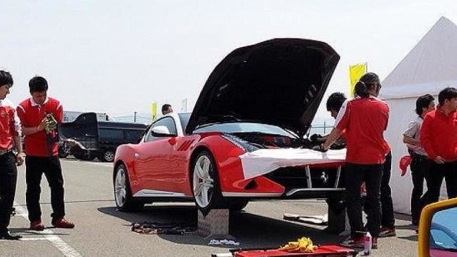 Ferrari SP FFX one-off spotted once again