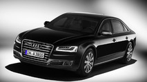 Audi A8 L Security introduced, meets class VR 7 ballistic protection standard