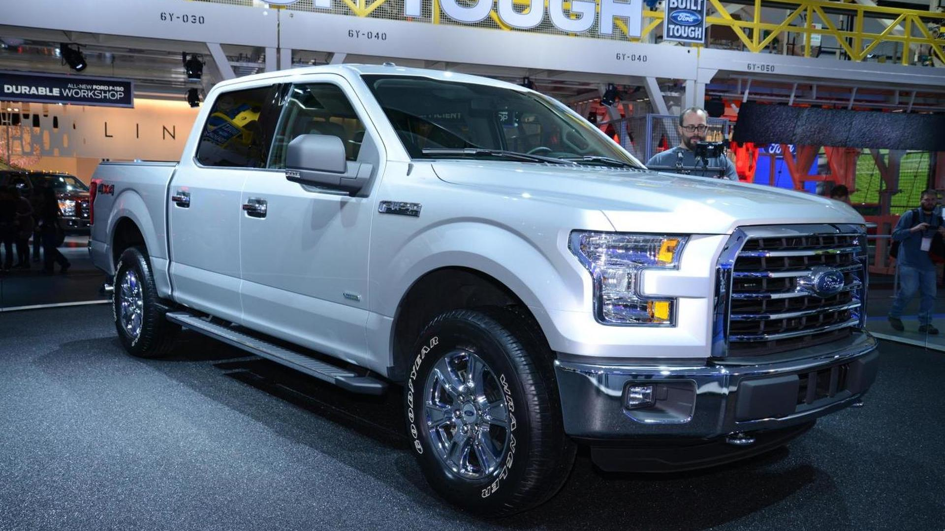 Aluminum-bodied 2015 Ford F-150 priced from 26,615 USD, only 395 USD more over 2014MY